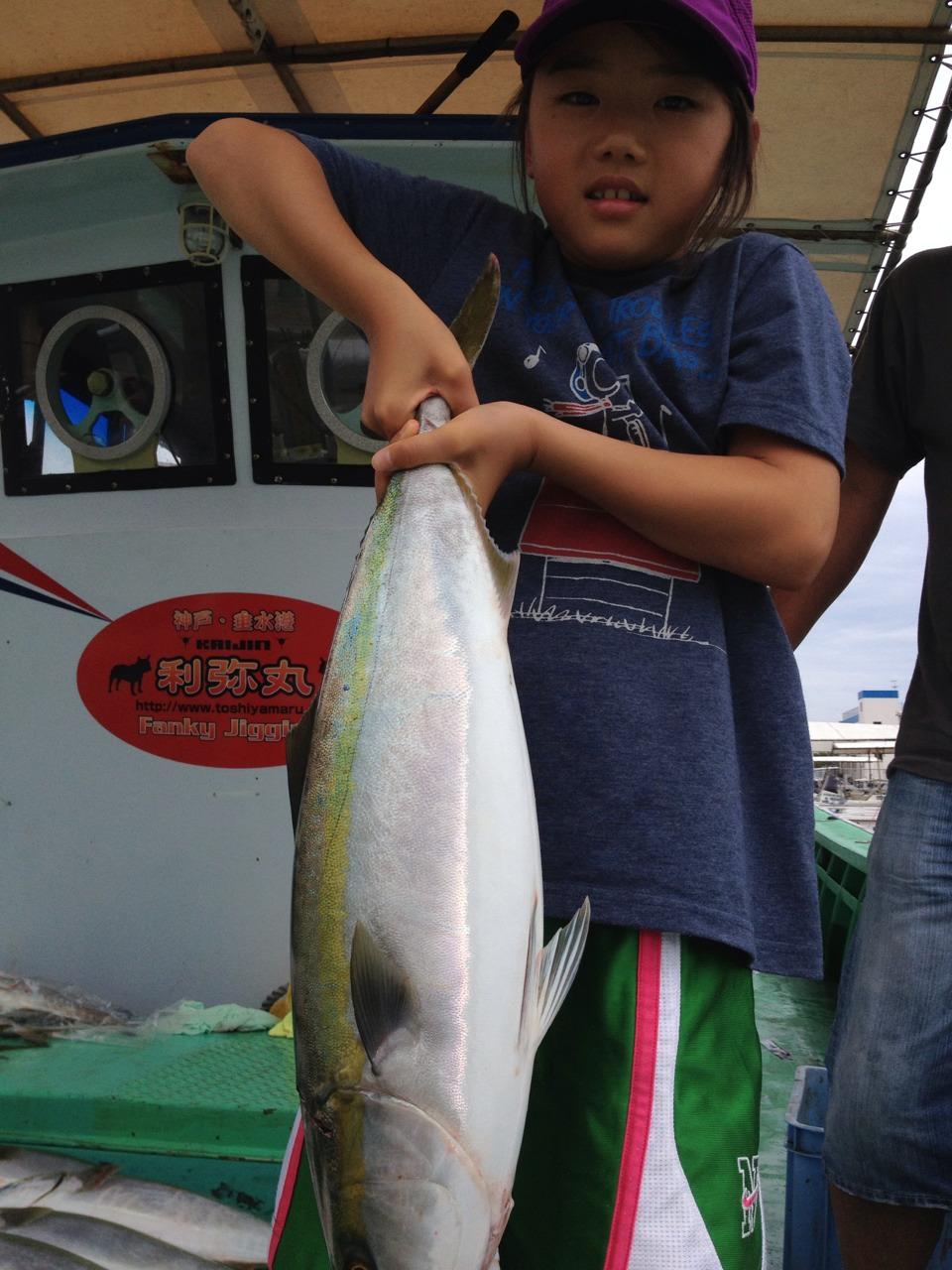 釣果はブリ1本メジロ37本タチウオ10本でした。   火曜、水曜も、出船します。まだ空席有ります。