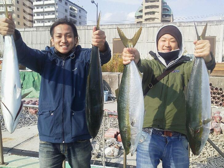 昨日の釣果は、メジロ23本ハマチ2本サゴシ3本でした。